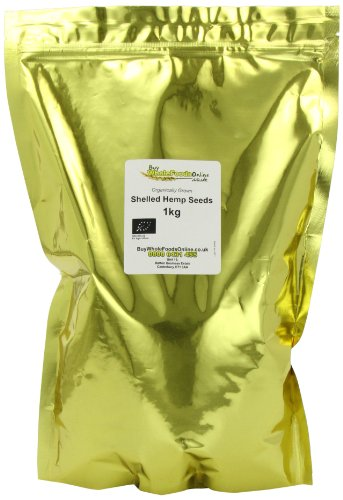 Buy Whole Foods Organic Shelled Hemp Seeds 1 kg Test