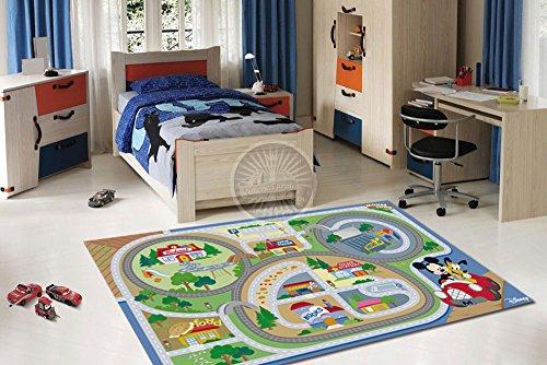 170x100 CM Los niños de la marca de alfombras con licencia oficial y