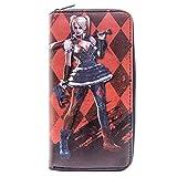 Harley Quinn Le Chevalier Noir Diamant Rouge Portefeuille