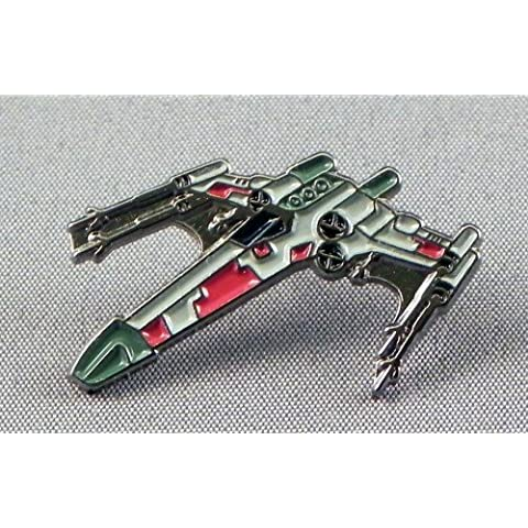 Metal Esmalte Pin Broche Star Wars (StarWars) X-Wing Starfighter (X Wing)