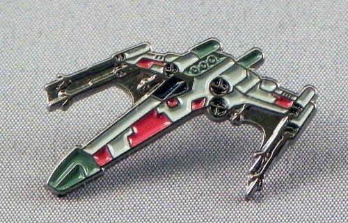 Mainly Metal Metall Emaille Brosche Star Wars (Krieg der Sterne) X-Wing Starfighter (X Wing)