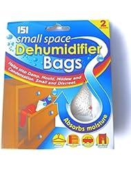 151 Lot de 2 sachets absorbeurs d'humidité 36 g