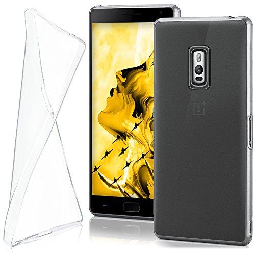 moex OnePlus 2   Hülle Silikon Transparent Klar Clear Back-Cover TPU Schutzhülle Dünn Handyhülle für OnePlus Two Case Ultra-Slim Silikonhülle Rückseite