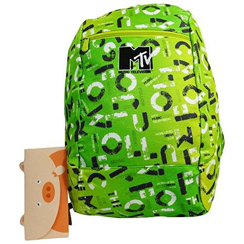 mtv-reversible-backpack-daypack-travel-bag-freetime-rucksack-green