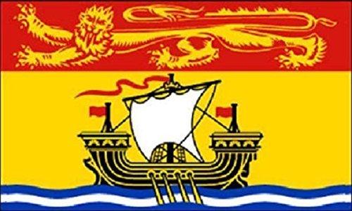 U24 Motorradflagge New Brunswick Fahne Flagge 20 x 30 cm