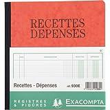 Exacompta - 930E - Recettes Depenses - 80 Pages - Couleur Aléatoire