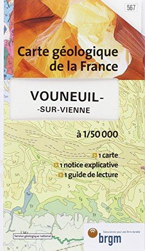Carte géologique : Vouneuil-sur-Vienne