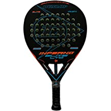 Pala de pádel Dunlop Inferno Elite LTD Orange - Blue