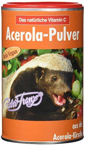 Robert Franz Acerolapulver, 175 g (Ganze Vitamin-c-pulver)