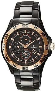 Titan Regalia Analog Black Dial Men's Watch -NK90008KM02