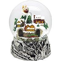20057 Mega Bola de nieve navidad con musica et rotation medida 200 mm
