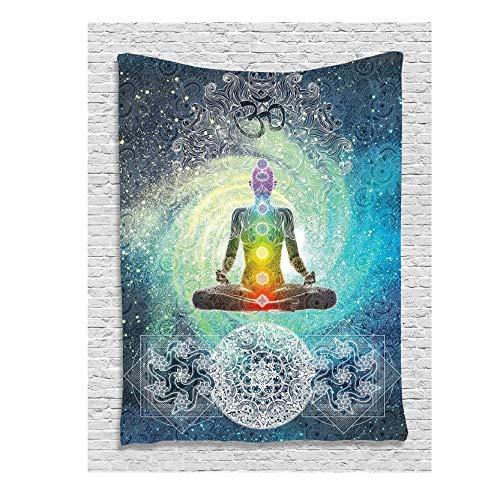 KUKE Tapiz de Yoga Decoración de Yoga de Mandala Design Zen Meditatio