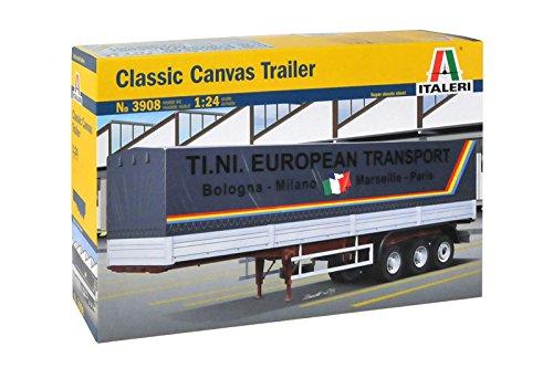 Italeri 3908 - 1:24 Classic Canvas Trailer, Fahrzeuge