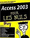 Access 2003, 9 en 1 pour les nuls