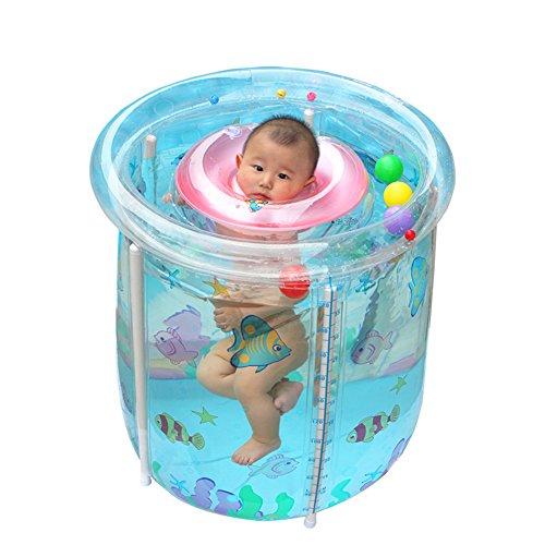 Bébé piscine/Reine pataugeoire/Pour bébés garçons barils de natation/Piscine gonflable thermique loisir-B
