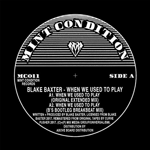 When We Used To Play (B's Bootleg Breakbeat Mix)