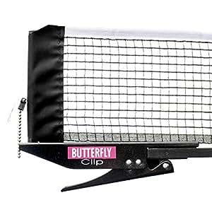 Butterfly Table Tennis Clip Net & Post Set