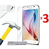 First glass® Pack 3 Vitres en verre trempé Samsung Galaxy Grand Prime SM-G530F/ (4G) SM-G531F/ Duos TV SM-G530BT/ G530FZ G530Y G530H G530FZ/DS Premium Anti Chocs, Anti empreintes digitales et gras,bords arrondis,dureté max 12H, haute définition 99%