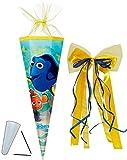 alles-meine.de GmbH Schultüte -  Disney - Findet Nemo - Fisch Dory  - 85 cm - Eckig - Incl. groß..