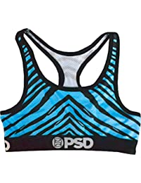 dfe30cd830 PSD Women s Zebra Neon - Sports Bra Underwear