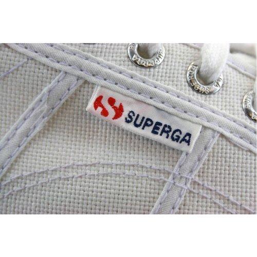 Superga 2790 Acotw Flatform Femmes Trainers Blanc