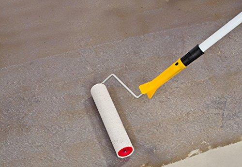 2K Epoxidharz Bodenversiegelung Farblos Seidenglänzend | BEKATEQ BK-400EP 2K Versiegelung (4,5KG) (Schleifen Boden Beton)