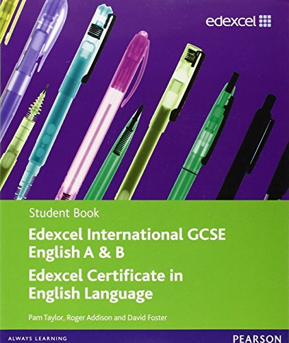 Edexcel International GCSE English A & B Student Book with ActiveBook CD by Pam Taylor (2010-09-15)
