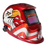 Gazechimp Pro Casco Máscara de Soldador de Amolado Auto Oscurecimiento Lens UV / IR Filter Shade Material Duradero - C