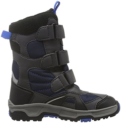 Jack Wolfskin S Snow Diver Texapore, Bottes de Neige Garçon Bleu (Night Blue 1033)