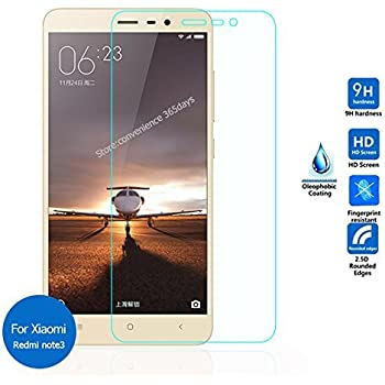 Kaira 9H Hardness Toughened Tempered Glass Screen Protector For Xiaomi Redmi Note 3 & Note 3 Pro