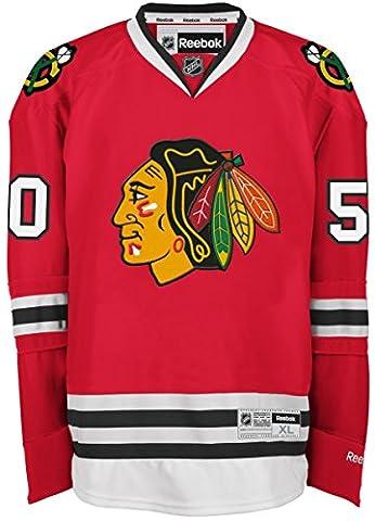 Corey Crawford Chicago Blackhawks Reebok NHL Premier Maillot - Red