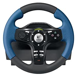 Logitech Driving Force EX Steering Wheel (PS2/PS3)