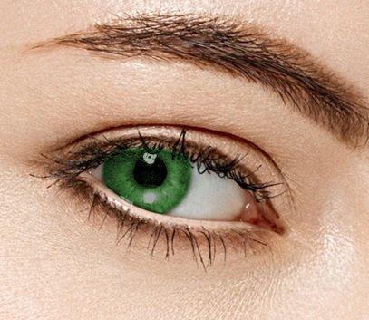 freshtone freshtone farbige kontaktlinsen monatslinsen grün ft-13lm Freshtone super Naturals Farbige Kontaktlinsen 3 Monatslinsen Lime Gute Deckkraft ohne Stärke mit Aufbewahrungsbehälter