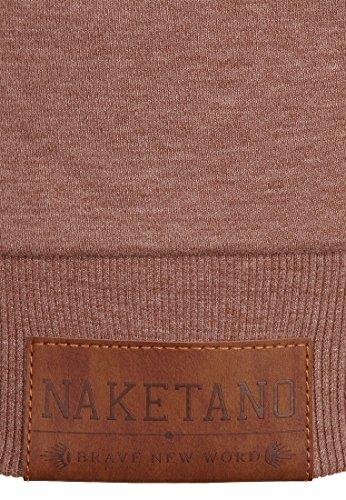 Naketano Female Zipped Jacket Jedi Path Brown Melange