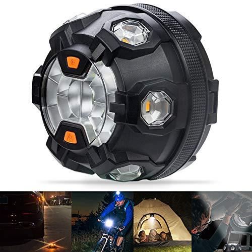 Bawoo Spia Avvertimento LED Road Flare LED Segnale di Emergenza Automobile Flare di Sicurezza Lampeggiante Luce di Avvertimento Roadside Flares Emergenza Disc Salvataggio Camping Escursionismo