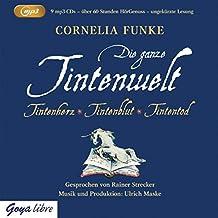 Tintenwelt - mp3-Ausgabe: Tintenherz, Tintenblut, Tintentod