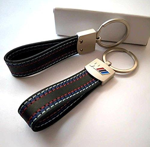 Porte Clé Cle Cuir BMW M Porte Clés Clé Clef Clefs BMW M Métal - Porte clef cuir