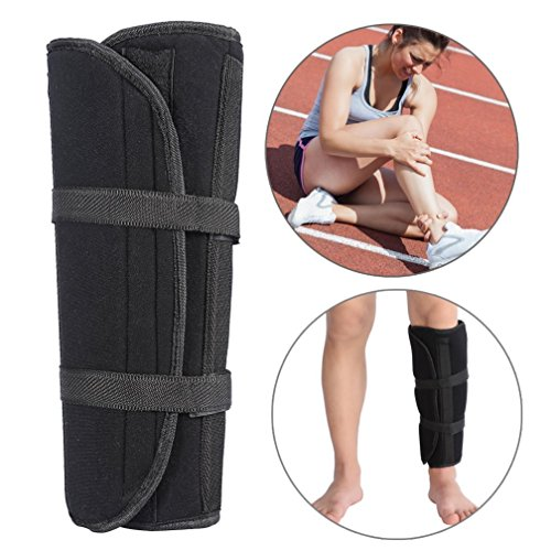 fusto vitello supporto night splint, tibia e fibula fracture orthese esterno regolabile fissaggio strap wrap sleeve belt protector