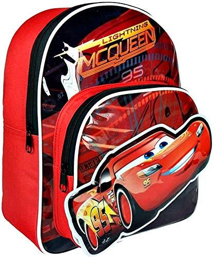 Disney Cars 3 Zaino con le Fattezze Saetta Mcqueen 3D Immagine