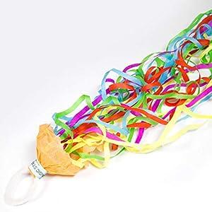 Folat 2 Lanzamiento de serpentinas * Magic Streamers * como decoración y Fiesta Diversión para cumpleaños, Fiesta, Festiva y Aniversario de Bodas Mesa Decorativa Diversión