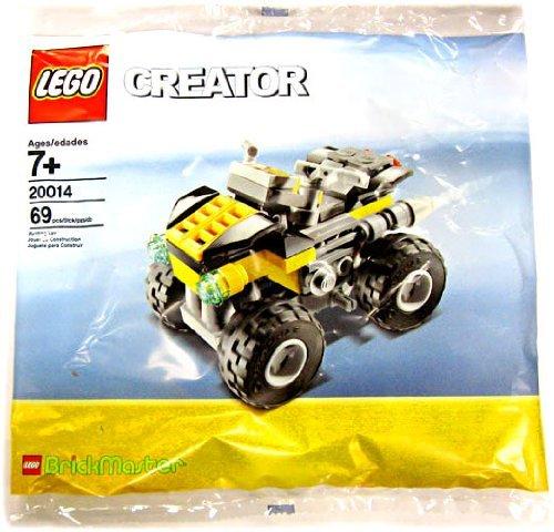 LEGO Creator: Brickmaster Quad Bike Establecer 20014