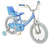 40,6cm Snow Princess–Bicicletta da bambino per bambini rigidi Townsend (Girls) in blu, età: 5–7