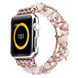 Bracelet Lumineux Fait Main de Nuit pour Apple Watch série 42mm / 44mm 4 3 2 1...