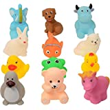 PRESENTSALE 12 Pcs Of Animal Bath Toys For Baby Bath Toy (Multicolor)