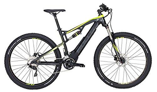 E-Mountainbike 29 Zoll schwarz - E-Bike Bulls E-Stream EVO 2 FS - Akku 650Wh, Shimano Schaltung 20 Gänge