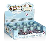 NPW Unicorn, Rainbow & Cupcake Pot Of 12 Mini Erasers