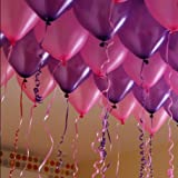 HK BalloonsTM HK0284 Metallic Purple & P...