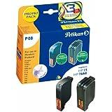 Pelikan 357915 - Pack de 2 cartuchos de tinta HP 15 + HP 78HC para HP DeskJet 920 (negro/tricolor, 42 ml/3 x 12.6 ml)