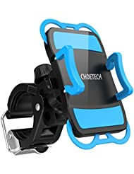 CHOETECH®Support Universel Téléphone Rotatif Sur Vélo & Moto, Installer et Retirer d'un Seul Coup, pour iPhone 7/ 7 Plus/ 6/ 6 Plus/ SE/ 5S/ 5C/ 4/ 4S, S7/S7 Edge, LG G5, HTC10, GPS et Autres Appareils