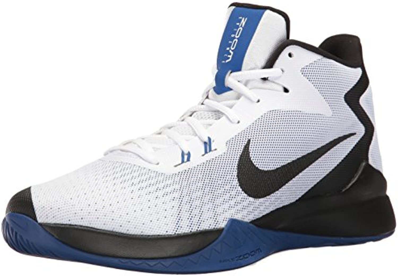 homme / femme de nike zoom preuve blanc / / noir / blanc équipe de basket - ball masculin royale de première qualité de chaussures modérée des prix  rembourseHommes t ar30824 vitesse 3a3717